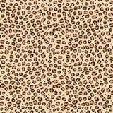F?r s?ml?s textur f?r hud f?r vektor tryckmodell f?r leopard djur arkivbild
