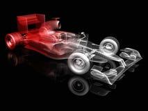 F1 race car royalty free illustration