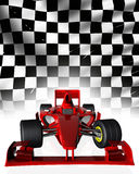 F1 raceauto stock illustratie
