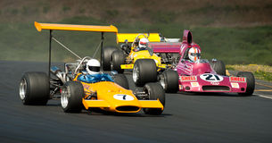 F5000 Racing Action Stock Photography