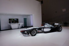 F1 racing car from Mclaren,2014 CDMS. The 17th Chengdu Motor Show(CDMS),one of the top four auto shows in China, was held at Century City New International Royalty Free Stock Image
