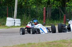 F1 Racing car in srilanka Royalty Free Stock Photography