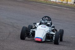 F1 Racing car in srilanka. Pannala  Race track In srilanka Photo taken on: May 27th, 2012 Stock Photo