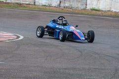 F1 Racing car in srilanka. Pannala  Race track In srilanka Photo taken on: May 27th, 2012 Stock Images