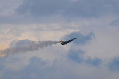 F16. Belgian f16 Airshow Royalty Free Stock Images