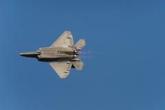 F-22 Raptor afterburners stock photos