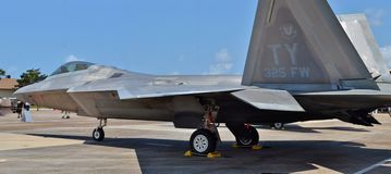 F-22 Raptor Fighter Jet Royalty Free Stock Image