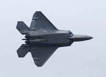 F-22 Raptor Jetfighter Stock Images