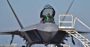 F-22 Raptor Pilot Stock Images