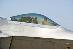 F-22 Raptor Tactical Fighter Aircraft Stock Image