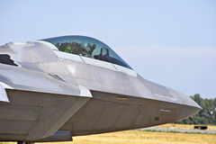 F-22 Raptor Tactical Fighter Aircraft Royalty Free Stock Photos