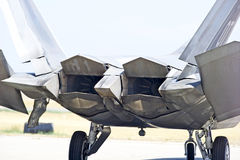 F-22 Raptor Tactical Fighter Aircraft Royalty Free Stock Photography