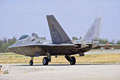 F-22 Raptor Tactical Fighter Aircraft Stock Photography