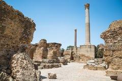 F?rd?rvar av baden av Antoninus carthage tunisia arkivfoto