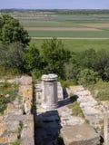 F?rd?rvar av den forntida Troia staden, Canakkale Dardanelles/Turkiet fotografering för bildbyråer