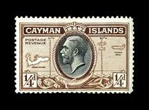 F?rgglade Cayman?arna portost?mplar arkivfoto