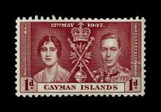 F?rgglade Cayman?arna portost?mplar royaltyfria foton