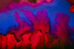F?rgrik och id?rik abstrakt bakgrund av f?rg p? exponeringsglas arkivfoton
