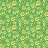 F?rgrik s?ml?s modell f?r abstrakt vektor Utdragen abstrakt organisk modell f?r Retro hand f?r textilen, inpackningspapper, tryck vektor illustrationer