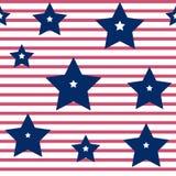 F?rgrik s?ml?s modell till sj?lvst?ndighetsdagen av Amerikas f?renta stater, vektor royaltyfri illustrationer