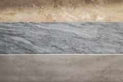 F?rgrika pr?vkopior av marmorerar, och keramiska tegelplattor som in visas, shoppar fotografering för bildbyråer