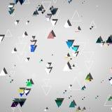 Fôrmas geométricas abstratas Foto de Stock