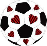 F roja y negra del corazón C libre illustration