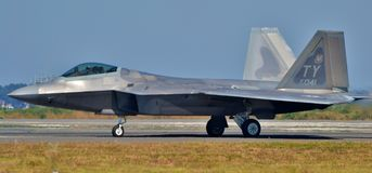 F-22 roofvogel Stock Foto's