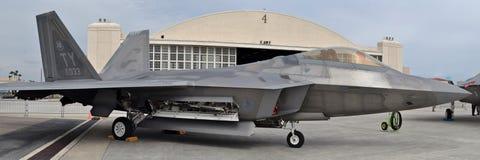 F-22 roofvogel Royalty-vrije Stock Afbeeldingen