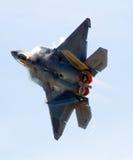 F-22 roofvogel royalty-vrije stock fotografie