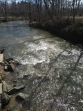 F?rstenas v?rfloden i Kenosha Wisconsin royaltyfri fotografi