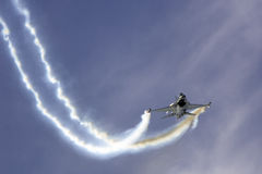 F-16. From Rygge Airshow in Norway 2009 stock photos