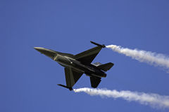 F-16. From Rygge Airshow in Norway 2009 stock photo