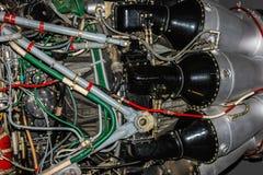 F-86 sabel Jet Engine Royaltyfri Bild