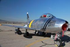 F-86 SABRE Jet Stockfotos