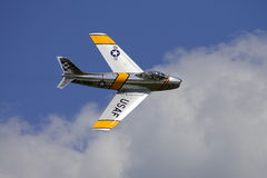 F-86 Sabre Jet Royalty Free Stock Images