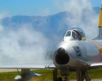 F 86 Sabre Jet Stock Photos