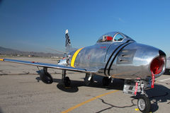 F-86 Sabre Jet Stock Photos