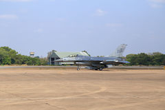 F-16 show on children's Day at Korat Wing 1 Royal Thai Airforce Stock Image
