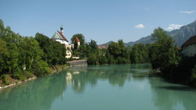 Füssen during the summer Royalty Free Stock Photography