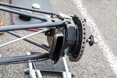 F1 stänger sig upp Royaltyfri Foto