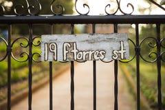 19 F St de Torres Image libre de droits