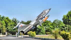 F-104 Starfighter飞机 免版税库存图片