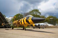 F-104 Starfighter Arkivbild