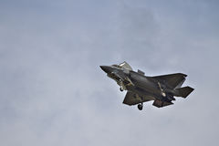 F-35 Stealth Fighter at airshow Royalty Free Stock Images