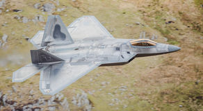 F-22 stealth fighter jet Stock Images