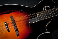 F style Mandolin Stock Photography