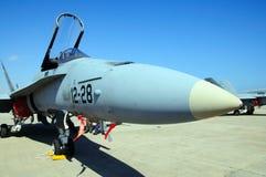 F/A-18 szerszeń Zdjęcia Stock