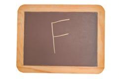 f tablicy pisać Obrazy Stock