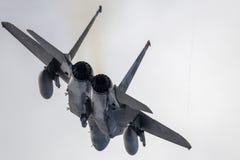 F-15 tar av Royaltyfri Fotografi